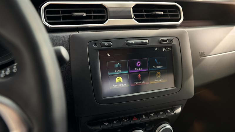 Renault DUSTER - Design intérieur - Media Nav Evolution
