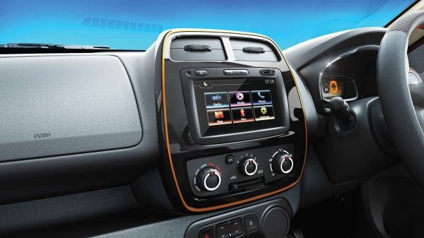 Climber First-in-class touchscreen Media NAV